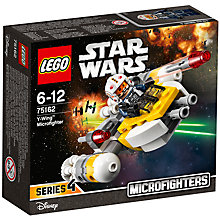 Buy LEGO Star Wars 75162 Y-Wing Microfighter Online at johnlewis.com