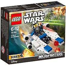 Buy LEGO Star Wars 75160 U-Wing Microfighter Online at johnlewis.com