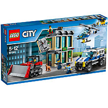 Buy LEGO City 60140 Bulldozer Break-In Online at johnlewis.com