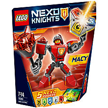 Buy LEGO Nexo Knights 70363 Battle Suit Macy Online at johnlewis.com