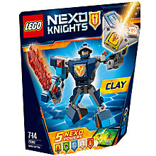 Buy LEGO Nexo Knights 70362 Battle Suit Clay Online at johnlewis.com