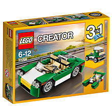 Buy LEGO Creator 31056 3 in 1 Green Cruiser Online at johnlewis.com