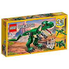 Buy LEGO Creator 31058 3 in 1 Mighty Dinosaurs Online at johnlewis.com