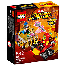 Buy LEGO Marvel Super Heroes 76072 Mighty Micros: Iron Man Vs Thanos Online at johnlewis.com