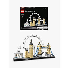 Buy LEGO Architecture 21034 London Online at johnlewis.com