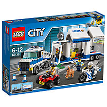 Buy LEGO City 60139 Mobile Command Centre Online at johnlewis.com