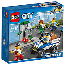 Buy LEGO City 60136 Police Starter Set Online at johnlewis.com