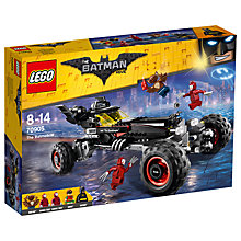Buy LEGO The LEGO Batman Movie 70905 The Batmobile Online at johnlewis.com