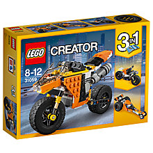 Buy LEGO Creator 31059 3 in 1 Sunset Street Bike Online at johnlewis.com