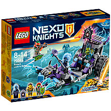 Buy LEGO Nexo Knights 70349 Ruina's Lock & Roller Online at johnlewis.com
