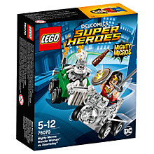 Buy LEGO DC Comics Super Heroes 76070 Mighty Micros: Wonder Woman Vs Doomsday Online at johnlewis.com