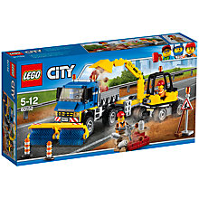 Buy LEGO City 60152  Sweeper and Excavator Online at johnlewis.com