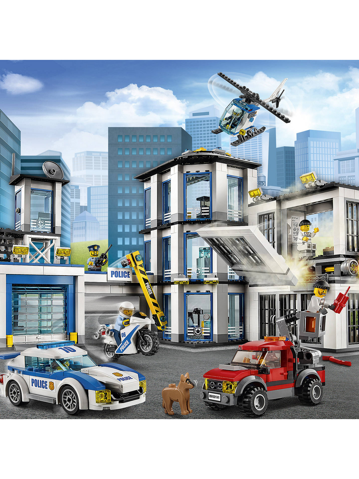Lego City 60141 Police Station At John Lewis Partners