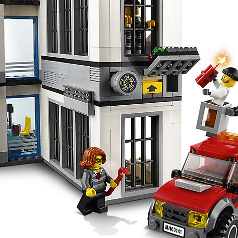 Buy LEGO City 60141 Police Station | John Lewis