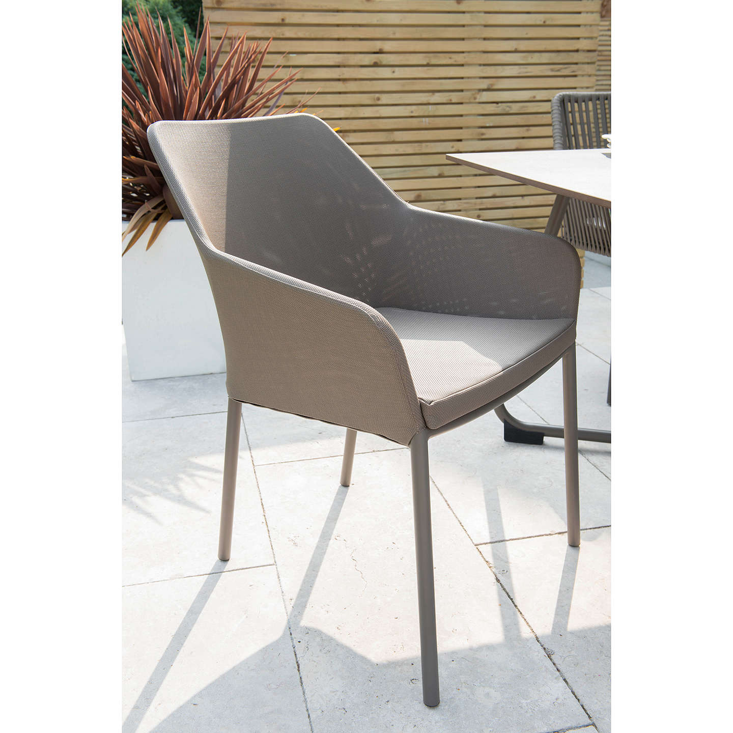 Garden Table And Chairs Set John Lewis: KETTLER Manhattan 6 Seater Garden Table And Wrap Chairs