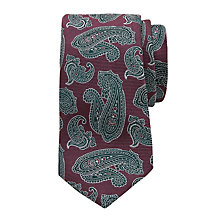 Buy Ted Baker Taped Paisley Silk Tie Online at johnlewis.com