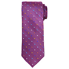 Buy John Lewis Small Disco Dot Woven Silk Tie Online at johnlewis.com