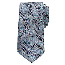 Buy Ted Baker Switzer Paisley Print Silk Tie Online at johnlewis.com