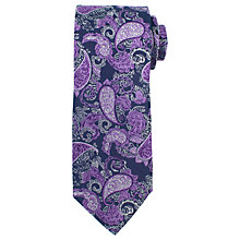 Buy John Lewis Fine Paisley Silk Tie Online at johnlewis.com