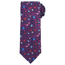 Buy John Lewis Ditsy Floral Silk Tie Online at johnlewis.com