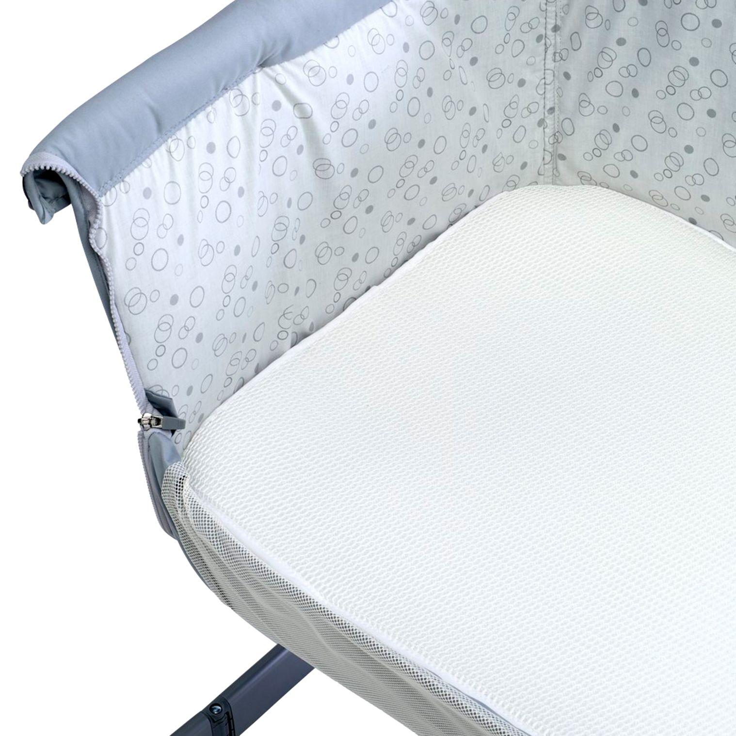 Chicco Chicco Night Breeze Bedside Crib Mattress Topper, White
