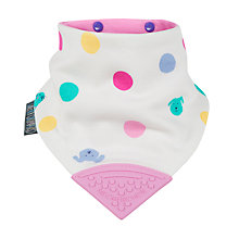Buy Cheeky Chompers Neckerchew Baby Bib, Spots Online at johnlewis.com