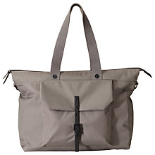 Buy Ally Capellino Teddy Ripstop Holdall, Grey Online at johnlewis.com