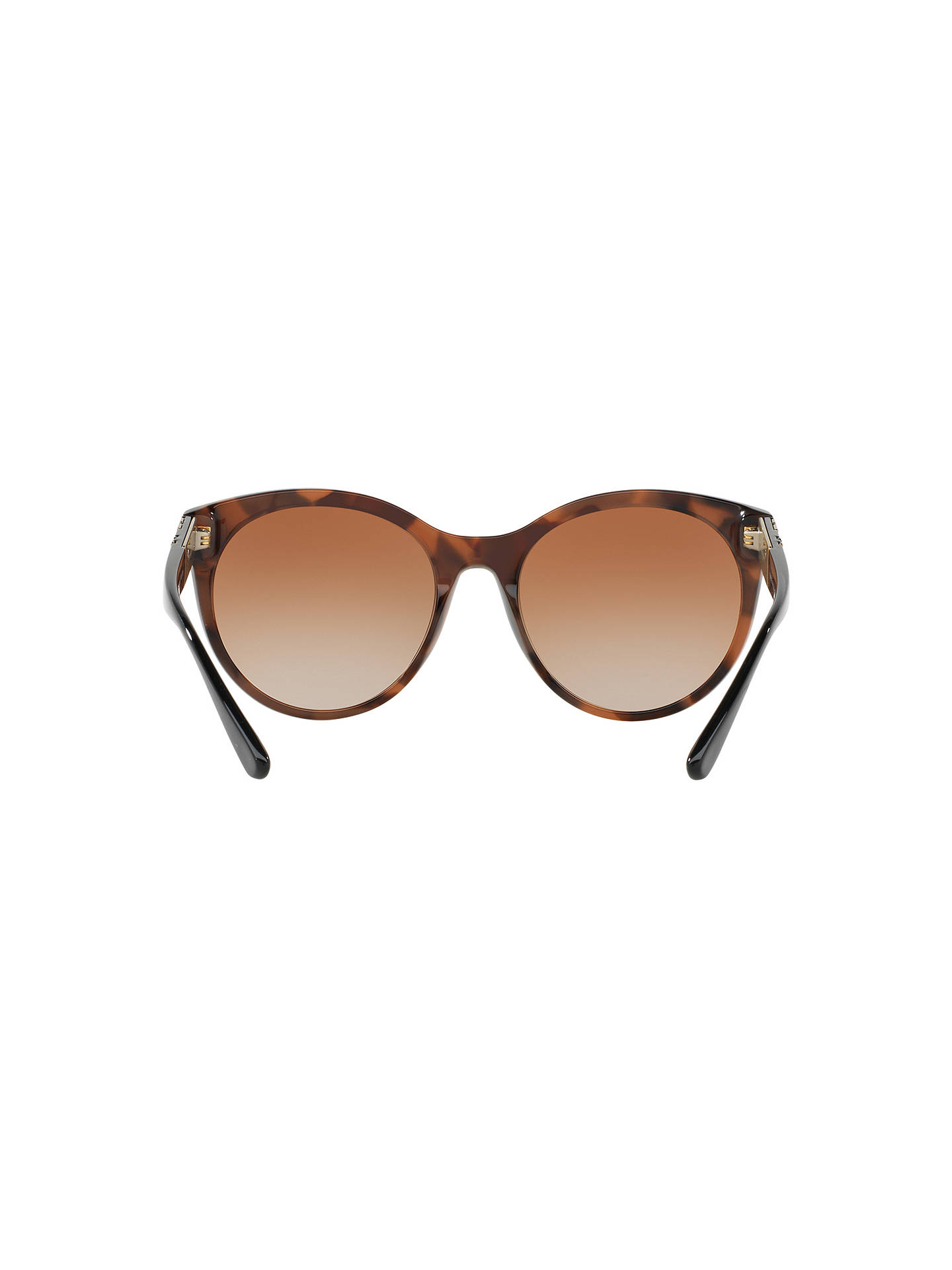 BuyBurberry BE4236 Oval Sunglasses, Tortoise/Brown Gradient Online at johnlewis.com