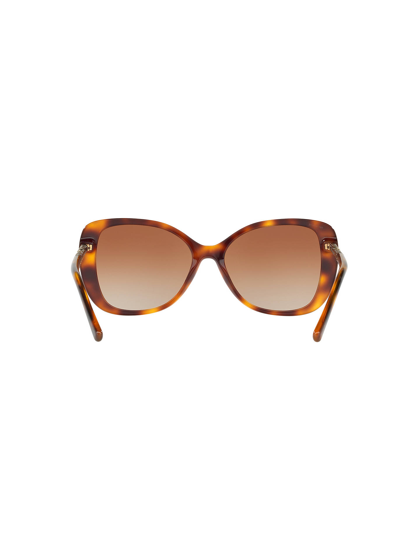 Buy Burberry BE4238 Cat's Eye Sunglasses, Tortoise/Brown Gradient Online at johnlewis.com