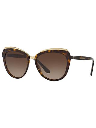 Dolce & Gabbana DG4304 Cat's Eye Sunglasses