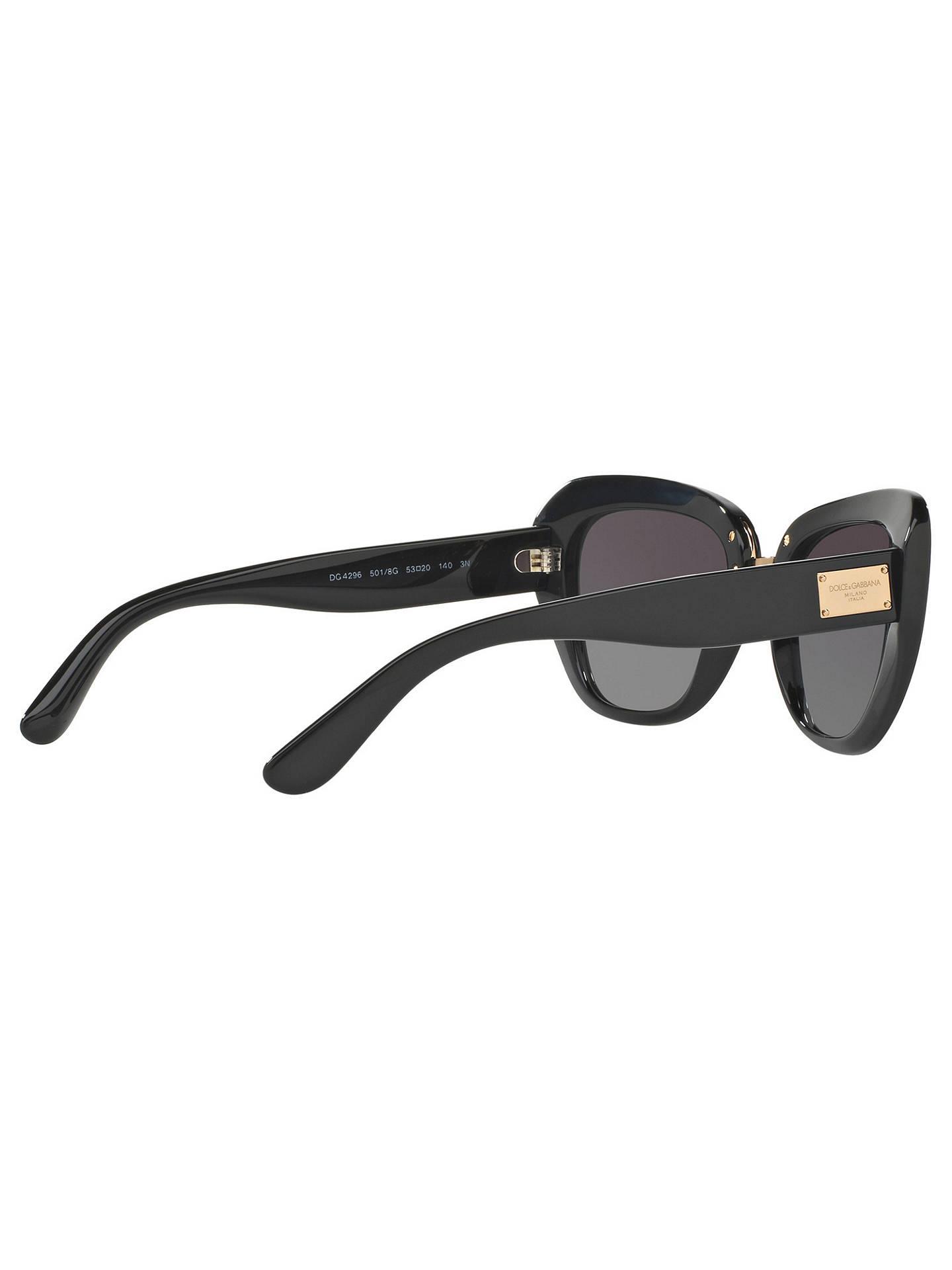 bdd8be6c2f6 Dolce   Gabbana DG4296 Cat s Eye Sunglasses at John Lewis   Partners