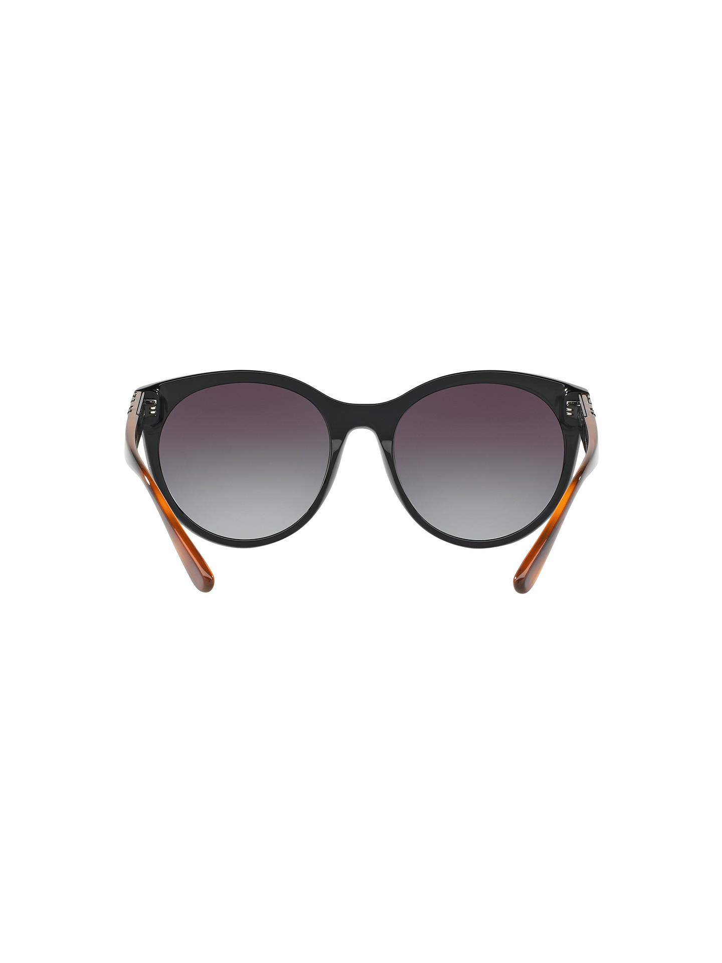 BuyBurberry BE4236 Oval Sunglasses, Black/Grey Gradient Online at johnlewis.com