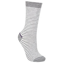 Buy John Lewis Wide Stripe Ankle Socks Online at johnlewis.com