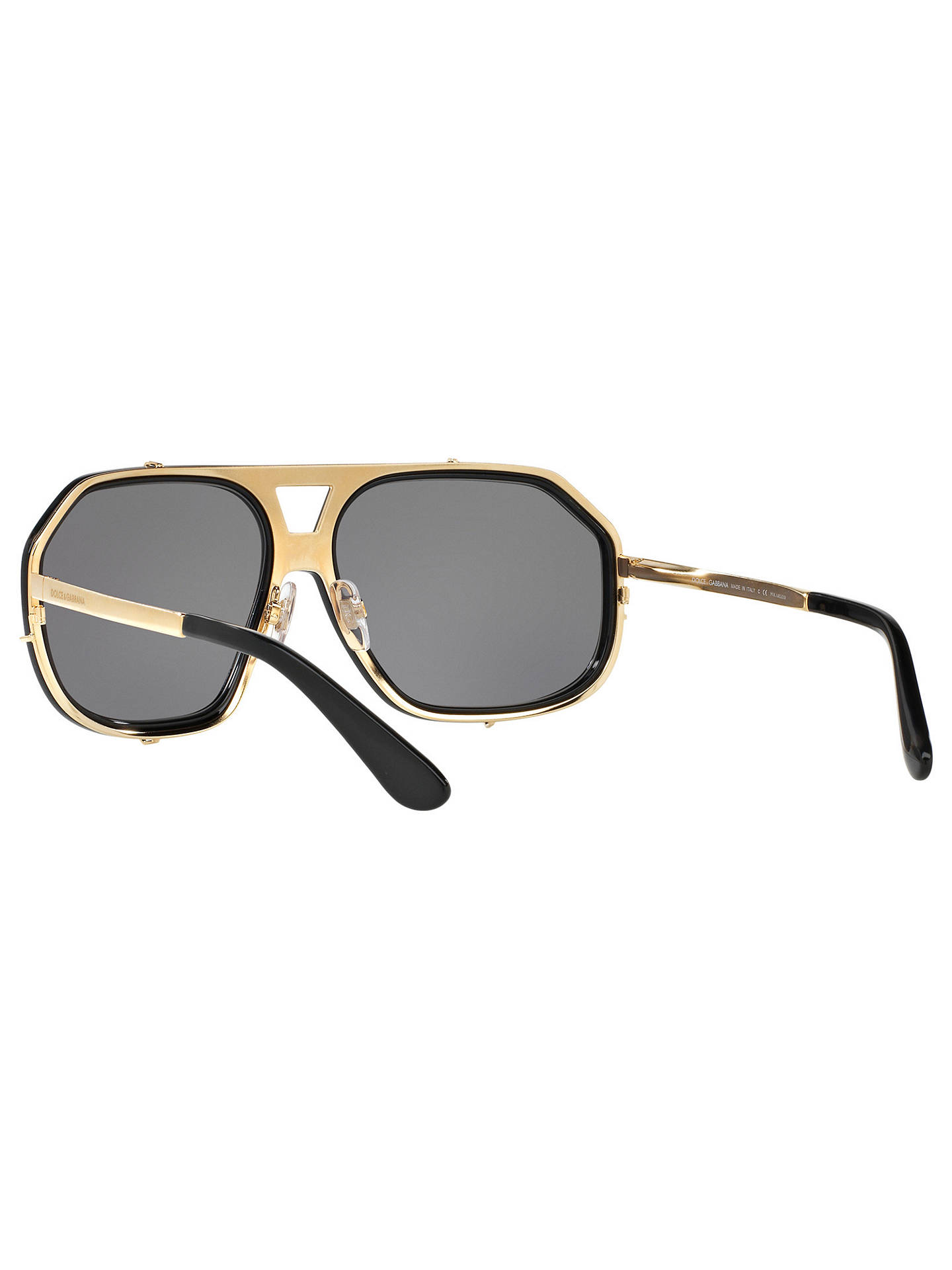 86b0aeb097e Buy Dolce   Gabbana DG2167 Polarised Aviator Sunglasses