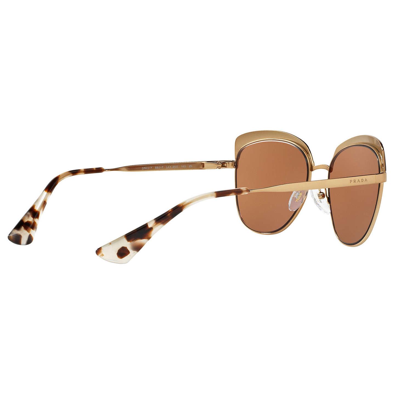 2dd82d1892c2 ... women e846a f2ece coupon code buyprada pr 51ts square sunglasses gold  brown online at johnlewis 80eb1 9faf7 shop prada ...
