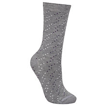 Buy John Lewis Mini Spot Ankle Socks Online at johnlewis.com