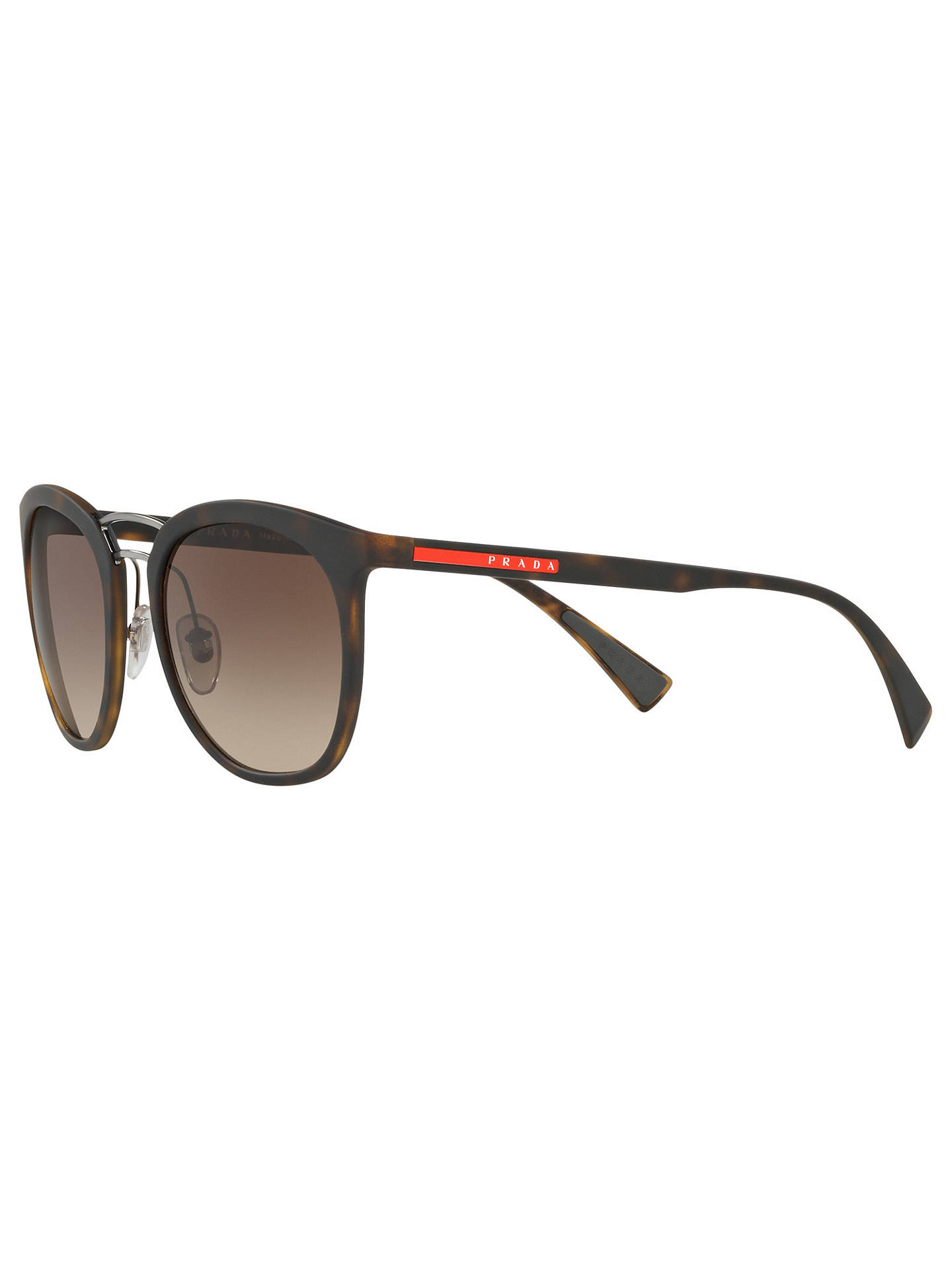 412b774bb88f Prada Linea Rossa PS 04SS Oval Sunglasses at John Lewis   Partners