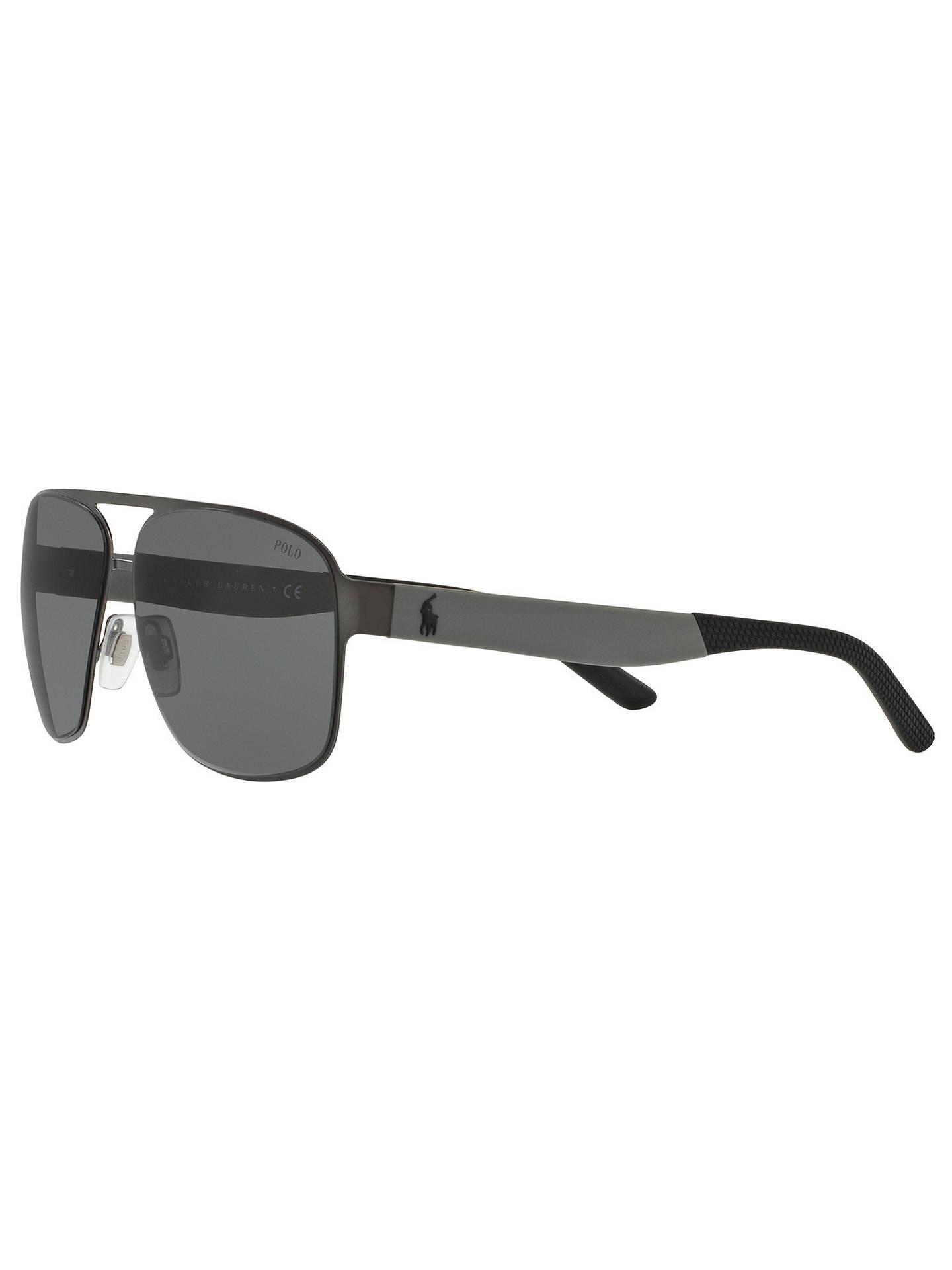 8b78d0172dc0 ... sweden buypolo ralph lauren ph3105 mens square sunglasses charcoal grey  online at johnlewis. 788c2 f5342