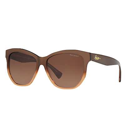 Ralph RA5219 Polarised Oval Sunglasses