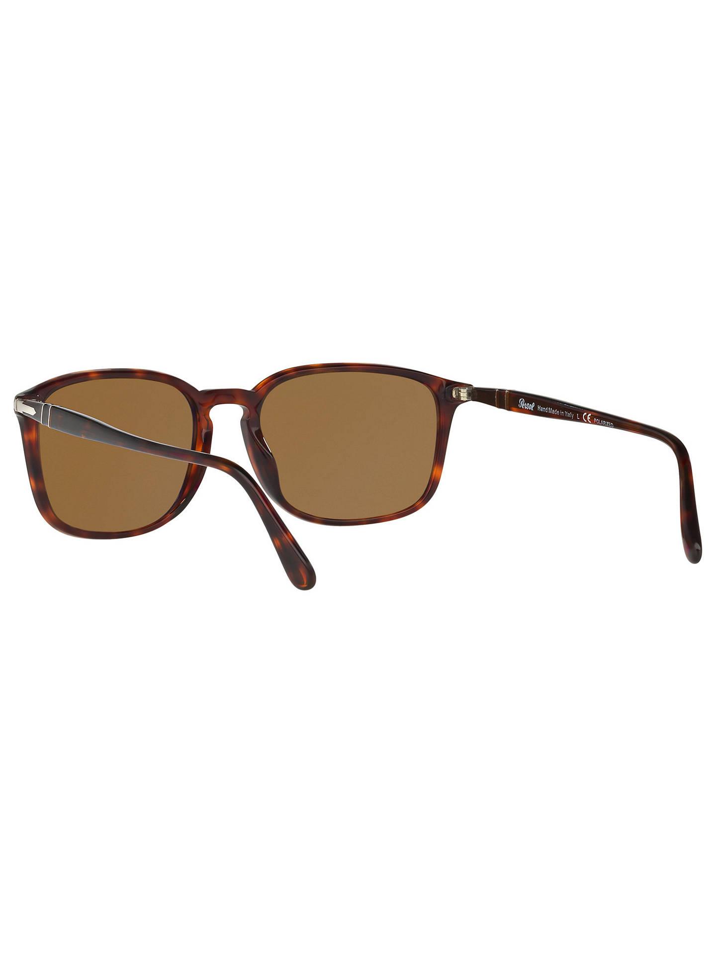 02ab8705f5b95 Persol PO3158S Polarised Square Sunglasses at John Lewis   Partners