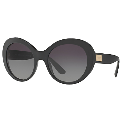 Dolce & Gabbana DG4295 Outsize Oval Sunglasses