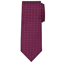 Buy Calvin Klein Micro Dot Silk Tie Online at johnlewis.com