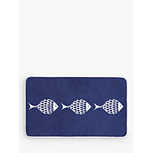Buy John Lewis Shoal of Fish Bath Mat Online at johnlewis.com