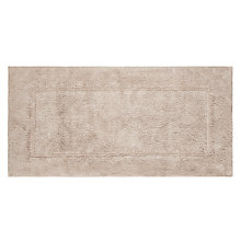 Buy John Lewis Egyptian Cotton Extra Large Deep Pile Bath Mat with Microfresh Technology Online at johnlewis.com