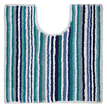 Buy John Lewis Multi Stripe Reversible Pedestal Mat Online at johnlewis.com