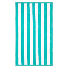 Buy John Lewis Deckchair Stripe Beach Towel Online at johnlewis.com