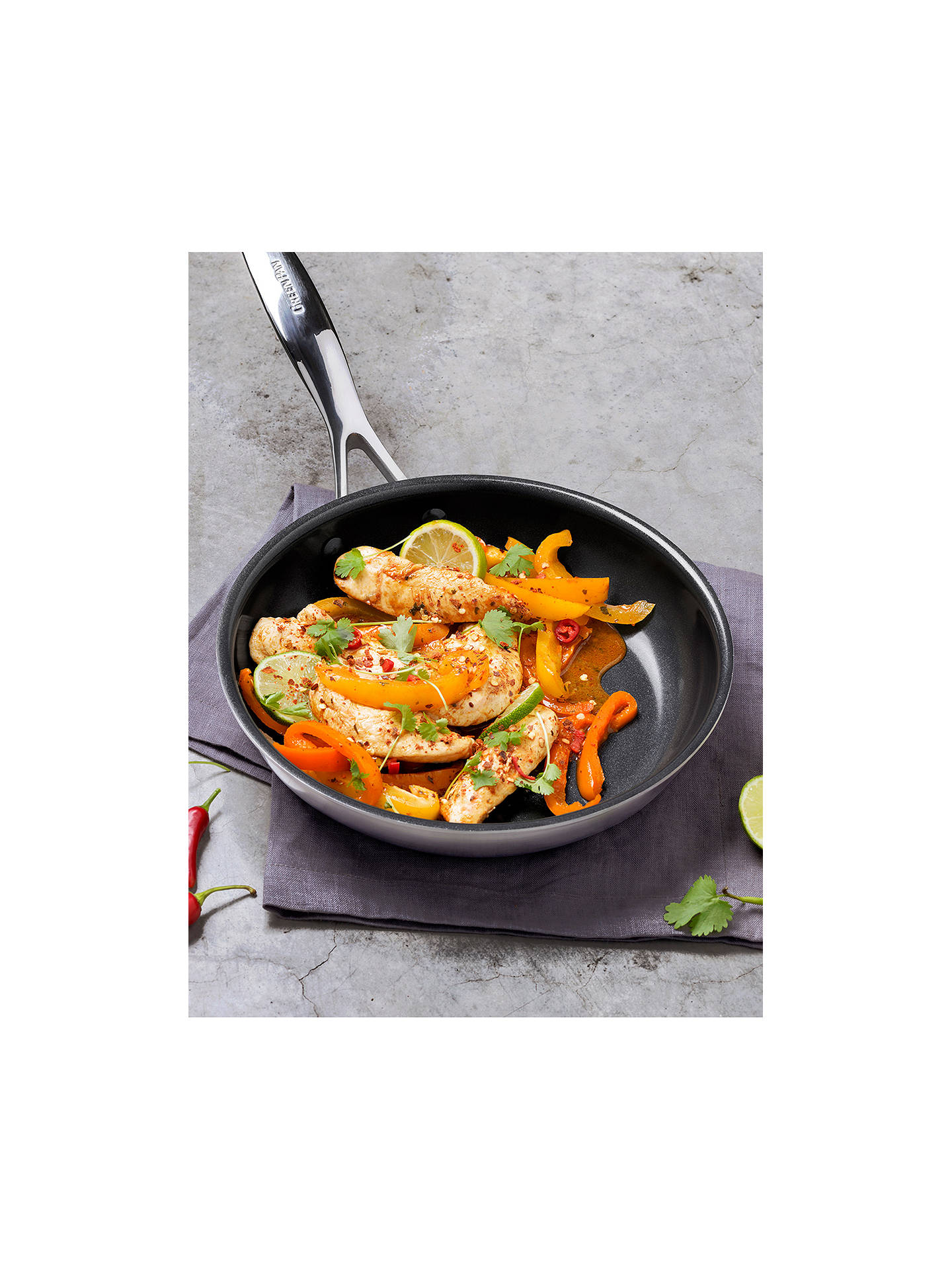 BuyGreenPan Elements Ceramic Non-Stick 24cm Frying Pan Online at johnlewis.com