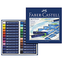 Buy Faber-Castell Creative Studio Oil Pastels, Pack of 24 Online at johnlewis.com