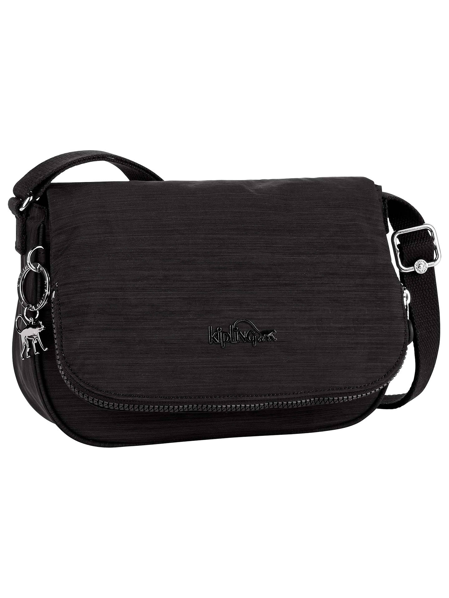 55f026d9acb Buy Kipling Earthbeat S Small Shoulder Bag, Dazz Black Online at  johnlewis.com ...