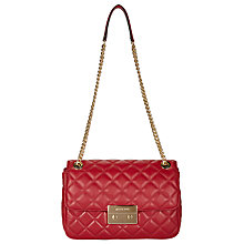 Buy MICHAEL Michael Kors Sloan Large Leather Chain Shoulder Bag Online at johnlewis.com